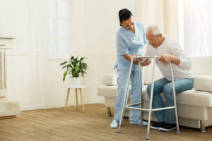 An in-home caregiver will give you the assistance you need.